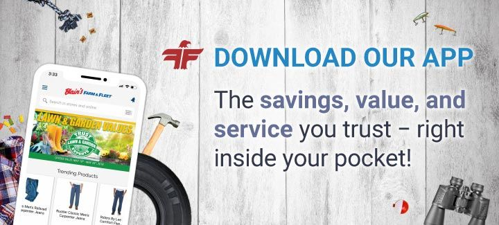 Download our app - The savings, value, and service you trust--right inside your pocket!